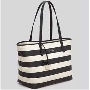 Kate Spade Tote Hawthorne Lane Ryan Striped